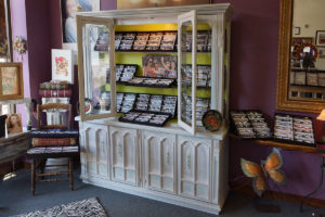 Boutique - northeast wall product display